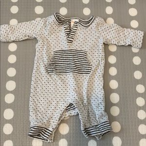 Gymboree Black and white romper